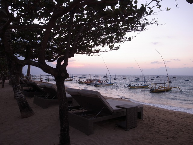 インドネシアバリ島ビーチ