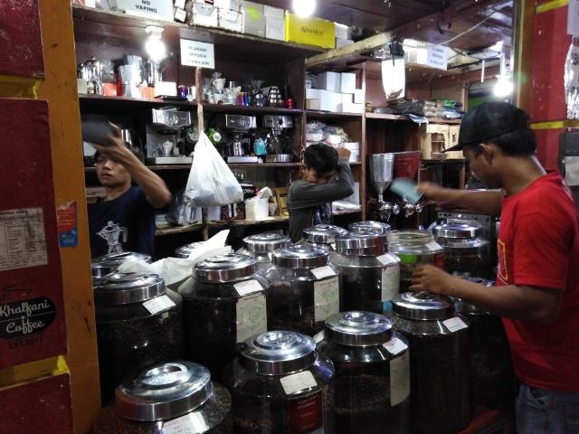 パサールサンタ コーヒー