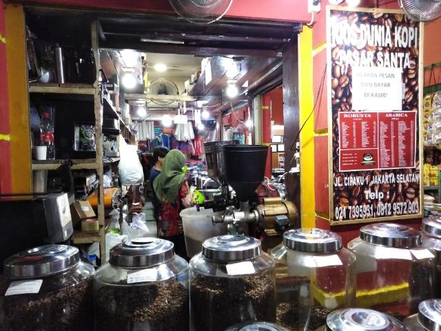 パサールサンタ コーヒー豆屋