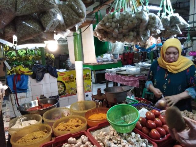 パサールサンタ 野菜売り場
